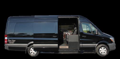 sprinter limousine rental for 8 passengers
