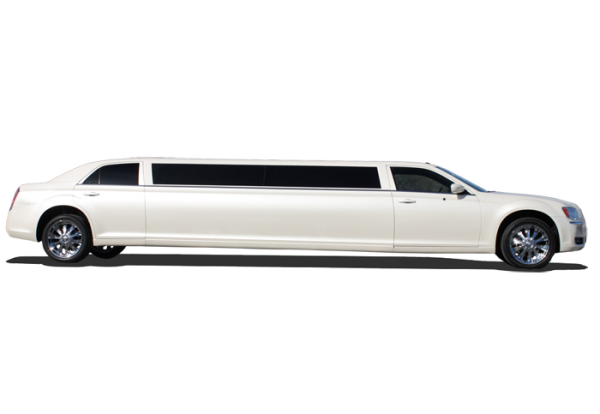 Image Of White Chrysler 300 For Limo Service Harrisburg, PA - Premiere #1 Limousine