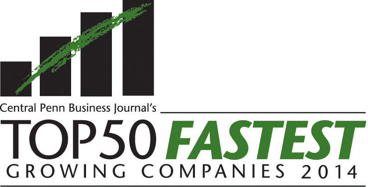 Central Penn Business Journal's Top 50 Fastest Growing Companies 2014