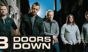 3 Doors Down Straw and Stripes