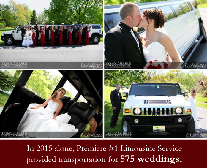 limousine and transportation services for weddings in PA