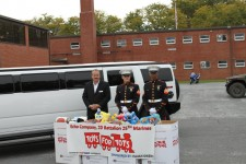 Toys for tots marines with hummer