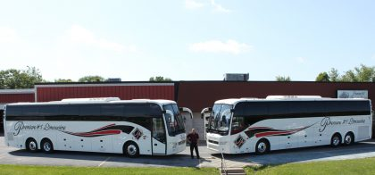PREMIERE ADDS SECOND 56-PASSENGER MOTORCOACH
