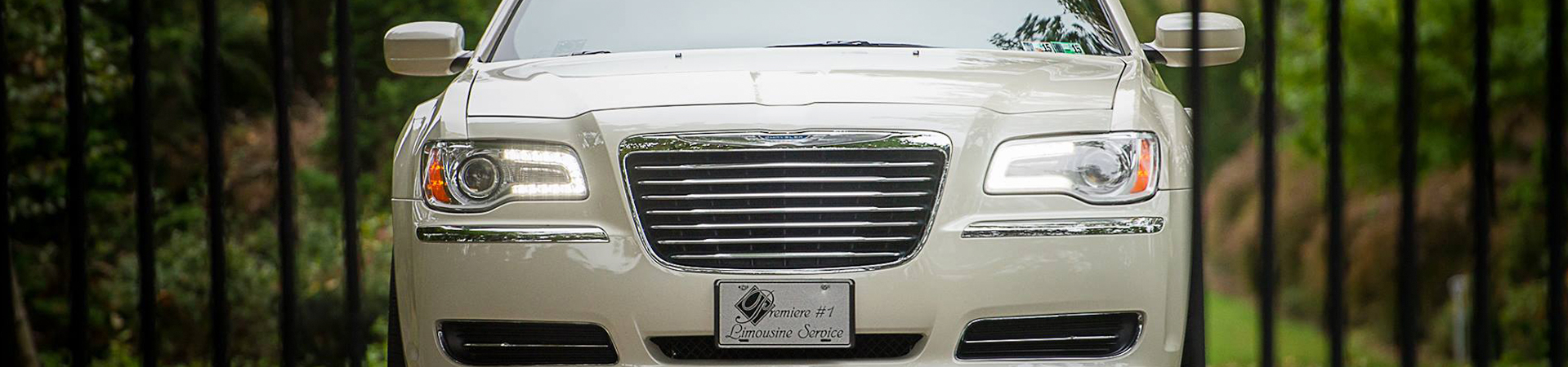 front end of limo banner